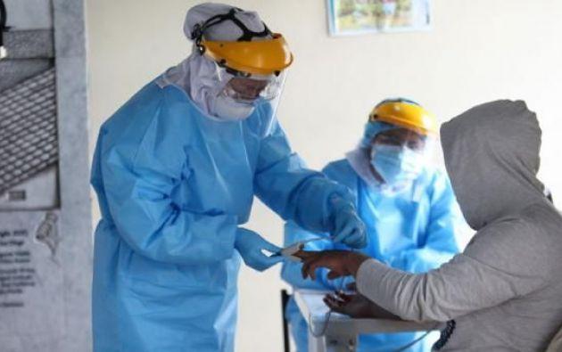 Hasta el momento se han tomado 549.226 muestras para RT-PCR en Ecuador.