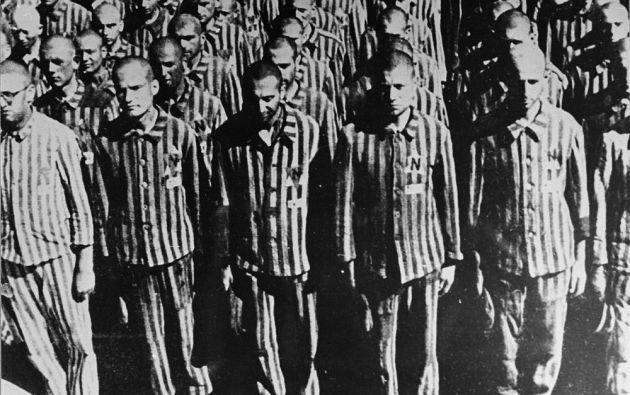 Judíos holandeses en el campo de exterminio de Buchenwald Foto: Museo Memorial del Holocausto Estados Unidos