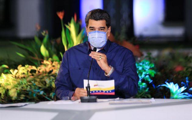 """Maduro tildó de """"sorprendente"""" el proceso electoral estadounidense. Foto: EFE"""