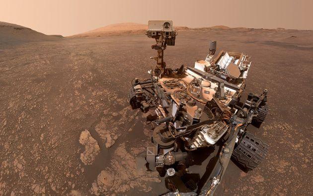El rover Curiosity de la NASA. Foto: NASA