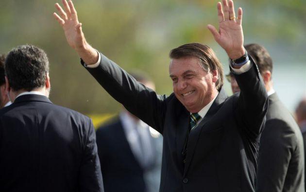 Bolsonaro ha declarado abiertamente su admiración por el actual presidente de Estados Unidos. Foto: EFE