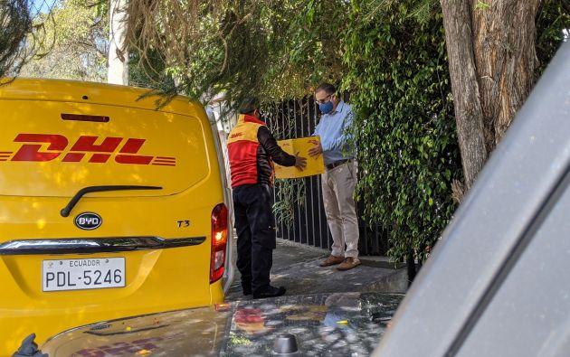 Las empresas de servicio courier que operan en el país contribuyeron en las importaciones de insumos necesarios durante la emergencia sanitaria, y mantuvieron la operatividad de sus servicios. Foto cortesía.