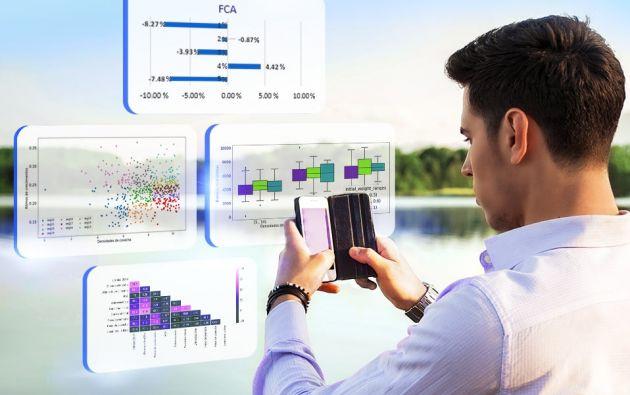 El servicio de asesoría analítica de Nicovita pone a disposición información histórica para el análisis de tendencias. Foto: Cortesía.