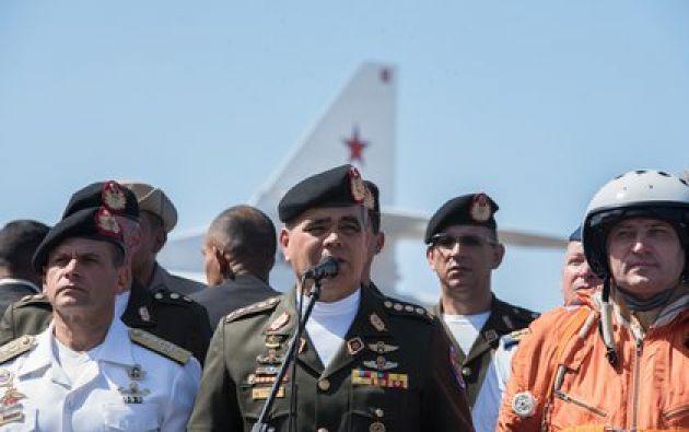 El ministro de Defensa de Venezuela, Vladimir Padrino López . Foto: ZUMA PRESS