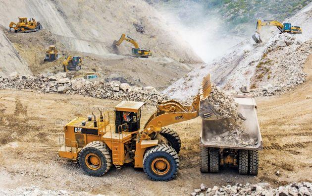 De enero a agosto de 2020 Ecuador exportó 410.06 millones en productos mineros. Foto Vistazo.