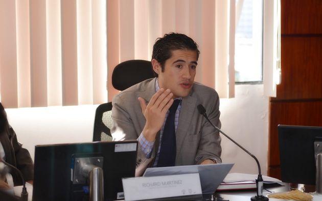Richard Martínez fue ministro de Finanzas durante dos años. Ahora trabaja en el BID.