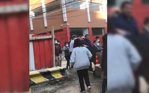 Rodríguez fue capturado por las autoridades en pleno partido entre Ecuador y Bolivia