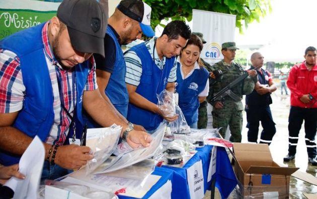 Se imprimirán un total de 65'600.000 papeletas electorales que contarán con tres niveles de seguridad.