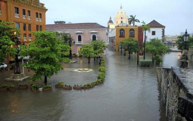 Según el alcalde William Daum, el 70% de la ciudad quedó inundada.