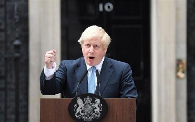 El primer ministro británico, Boris Johnson. Foto: EFE. Foto: EFE