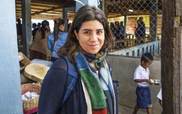 Carmen Burbano de Lara dirige la División de Alimentación Escolar del Programa Mundial de Alimentos.