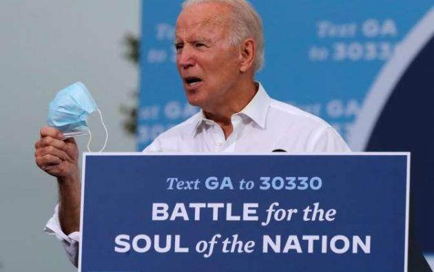 Joe Biden. Foto: EFE