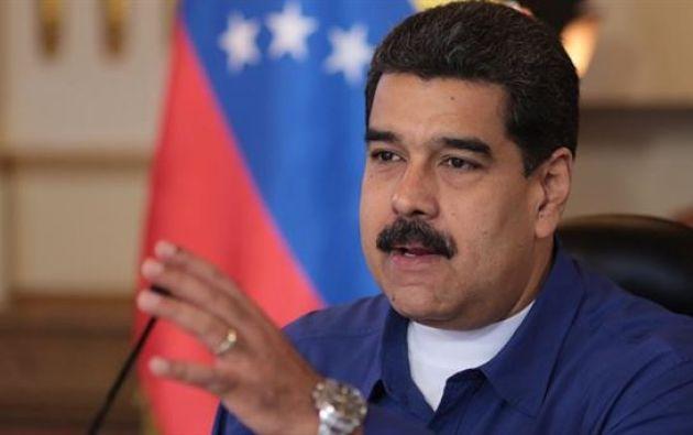 El presidente de Venezuela, Nicolás Maduro. Foto:EFE