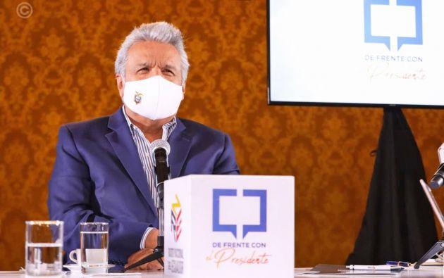 """""""Se vacunará a no menos de 9 millones de personas"""", anunció Moreno."""