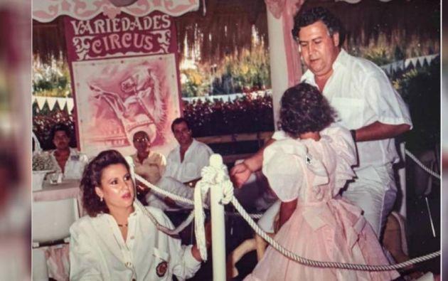 """""""Mi hija Manuela disfrutaba compartir cada momento al lado de su padre Pablo Escobar"""", detalló la viuda."""