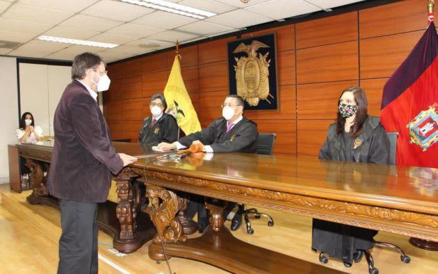 Mosquera fue sentenciado por el delito de lavado de activos, dentro del caso Odebrecht.