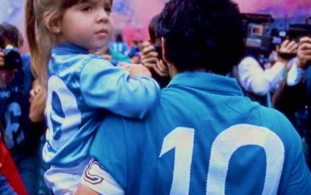 En 1997, Dalma Maradona debutó como actriz en Cebollitas.