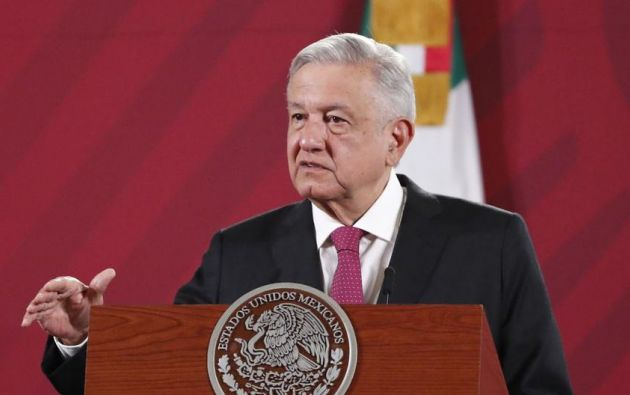 El presidente de México,  Andrés Manuel López Obrador. Foto: EFE