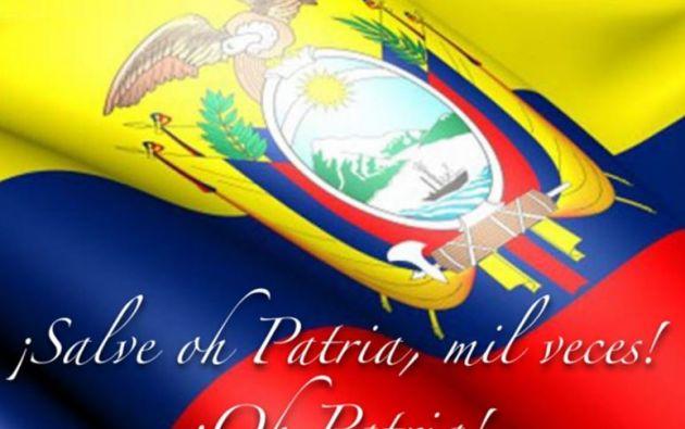 En 1865, tomando como base todas las creaciones previas, el escritor ambateño Juan León Mera escribió lo que sería la letra del actual himno nacional.