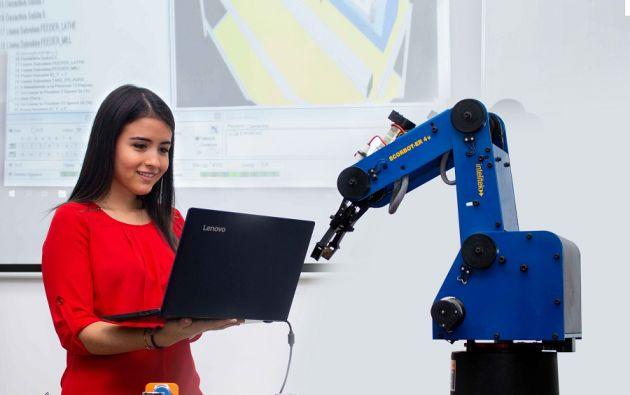 La ESPOL cuenta con una nueva carrera denominada Diseño de Productos, con una fuerte orientación hacia los temas relacionados a Industrias 4.0. Foto cortesía.