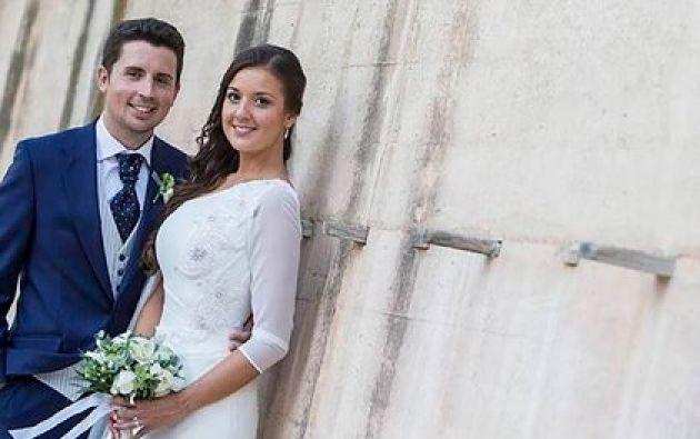 María Jesús Moreno Cantó  y su esposo Antonio Navarro.