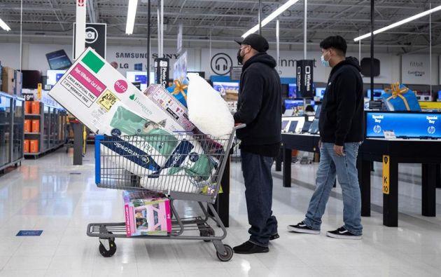 """Las cifras sitúan a este """"Black Friday"""" como el segundo día en toda la historia en términos de gasto online en Estados Unidos, sólo superado por el """"Cyber Monday"""" del pasado año. Foto: EFE."""