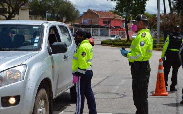 La víctima se encontraba laborando junto a una compañera por la Av. España y Sebastián de Benalcázar, en Cuenca. Foto referencial