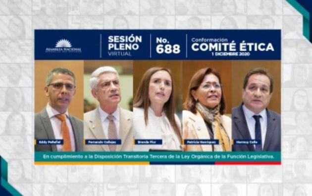 Los legisladores cumplirán sus funciones hasta mayo de 2021.