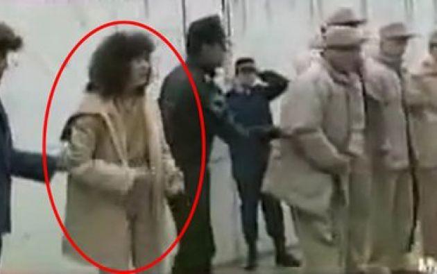 """María del Rocío del Villar Becerra María del Rocío Villar Becerra detenida junto con """"el Chapo"""" en 1993. Foto: Captura video Televisa"""