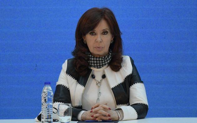 La expresidenta de Argentina Cristina Fernández (2007-2015), actual vicepresidenta. / EFE