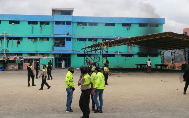 Unidades Tácticas de la Policía Nacional y de las Fuerzas Armadas controlaron el incidente.