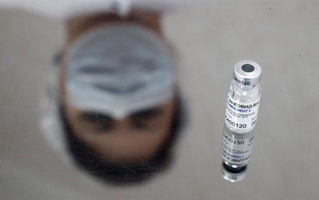 La vacuna se encuentra en la fase tres de ensayos clínicos. Foto: EFE