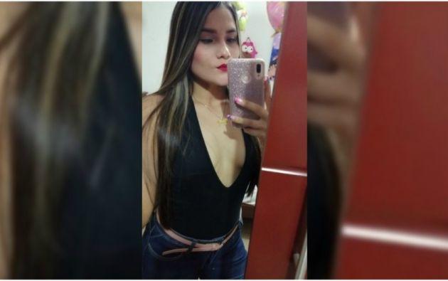 Angie Tatiana Idárraga Hernández, de 22 años.