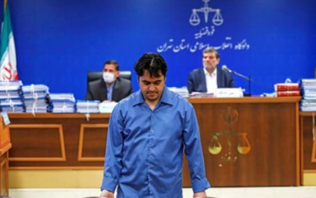 Zam fue condenado a muerte por 13 cargos, incluido corrupción en la tierra.