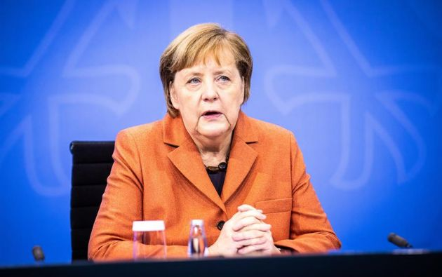 """""""Es el día de hacer lo necesario"""", aseguró la canciller alemana, Angela Merkel. Foto: EFE"""