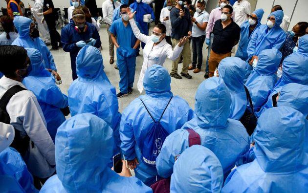 La covid-19 ya suma en Ecuador más de 202.000 casos de contagio. Foto: EFE