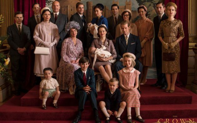 Escena de la serie The Crown emitida por Netflix.Foto: @TheCrownNetflix