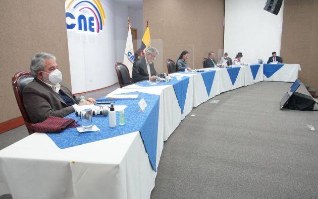 Cuatro de los cinco consejeros del CNE serán investigados por la Fiscalía.