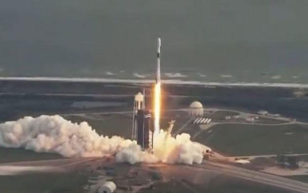 El cohete portador despegó desde el Cabo Cañaveral, en Florida.