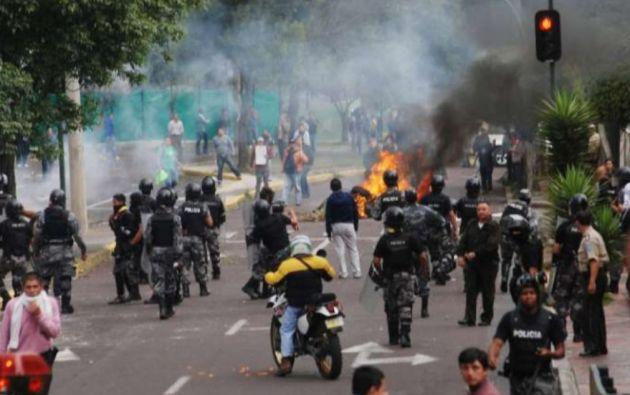 Los hechos investigados por Fiscalía se produjeron en el operativo con el cual se extrajo del Hospital de la Policía Nacional, en Quito, al expresidente Rafael Correa.