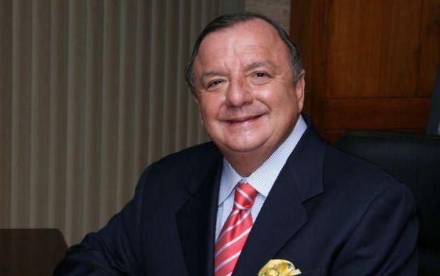 Álvaro Noboa Pontón (Guayaquil, 1950), empresario bananero y naviero. Dice que las encuestas lo ponen como el único candidato que ganaría en primera vuelta al candidato del expresidente Correa, Andrés Arauz.