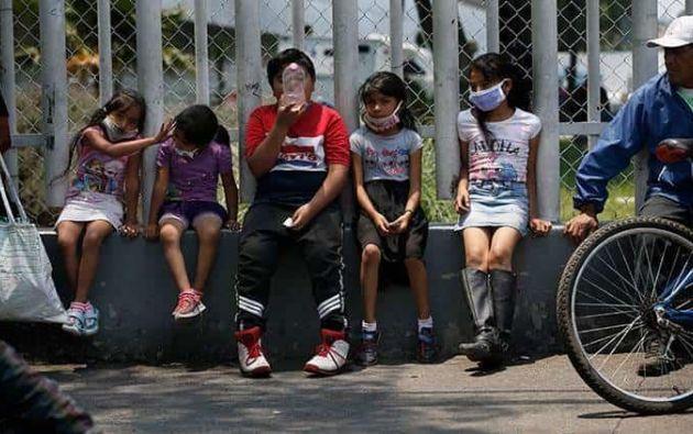 """Unicef exhorta al Gobierno y a todos los sectores de la sociedad a que asignen """"recursos suficientes"""". Foto tomada del medio Pulso"""