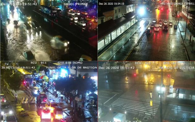 El Instituto Nacional de Meteorología e Hidrología (Inmahi), advirtió sobre lluvias, e incluso, tormentas eléctricas hasta el 28 de diciembre.