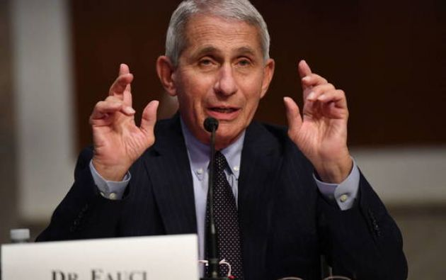 Anthony Fauci, epidemiólogo jefe de Estados Unidos. Foto;EFE