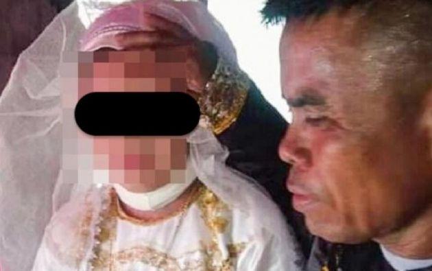 La menor fue obligada a convertirse en la quinta esposa de Abdulrzark Ampatuan.