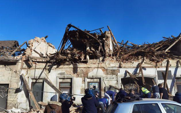 """""""Las ambulancias no pueden llegar a todos los lugares. Es un caos"""" dijo Dumbovic."""