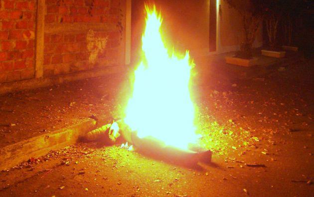 COE exhortó a la ciudadanía en general que se abstenga de realizar la quema de monigotes en los espacios privados.