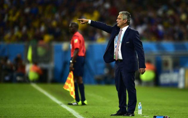 Reinaldo Rueda dirigió a la selección ecuatoriana de fútbol en su último mundial (Brasil 2014). A pesar de una notable eliminatoria, la eliminación en fase de grupos del mundial empujó su salida de la selección.