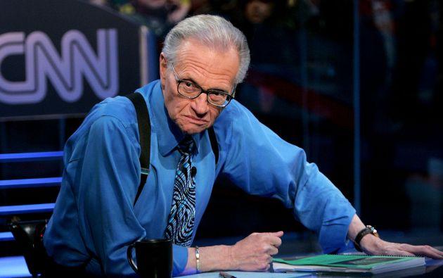"""El presentador alcanzó la fama con el programa de radio """"The Larry King Show"""", que se emitió desde 1978 hasta 1994. Después saltó a la televisión con """"Larry King Live"""", que se pudo ver en la CNN desde 1985 hasta 2010."""