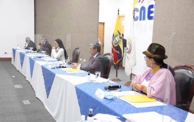 El CNE  rechazó la orden judicial.sobre destitución a cuatro vocales.